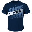 "Memphis Grizzlies Majestic NBA ""Winning Tactic"" Men's Short Sleeve T-Shirt"