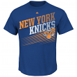 "New York Knicks Majestic NBA ""Winning Tactic"" Men's Short Sleeve T-Shirt"