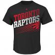 "Toronto Raptors Majestic NBA ""Winning Tactic"" Men's Short Sleeve T-Shirt"