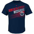 "Washington Wizards Majestic NBA ""Winning Tactic"" Men's Short Sleeve T-Shirt"