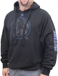 "Dallas Mavericks Majestic NBA ""Choice"" Men's Black Pullover Hooded Sweatshirt"