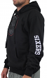 "Philadelphia 76ers Majestic NBA ""Choice"" Men's Black Pullover Hooded Sweatshirt"