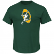 Green Bay Packers Majestic NFL Back in Time Men's Throwback S/S Premium T-Shirt