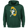 "Green Bay Packers Majestic NFL ""Back in Time"" Men's Throwback Hooded Sweatshirt"
