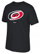 "Carolina Hurricanes Reebok NHL ""Jersey Crest"" Men's Short Sleeve Black T-Shirt"