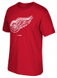 "Detroit Red Wings Reebok NHL ""Jersey Crest"" Men's Short Sleeve Red T-Shirt"