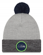 "Seattle Seahawks New Era NFL ""Heathered Pom"" Cuffed Knit Hat with Pom"
