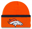 "Denver Broncos New Era NFL ""Ribbed Up Team"" Cuffed Knit Hat"