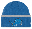 "Detroit Lions New Era NFL ""Ribbed Up Team"" Cuffed Knit Hat"