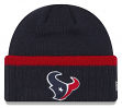 "Houston Texans New Era NFL ""Ribbed Up Team"" Cuffed Knit Hat"