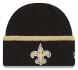 "New Orleans Saints New Era NFL ""Ribbed Up Team"" Cuffed Knit Hat"