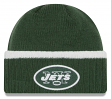 "New York Jets New Era NFL ""Ribbed Up Team"" Cuffed Knit Hat"