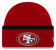 "San Francisco 49ers New Era NFL ""Ribbed Up Team"" Cuffed Knit Hat"