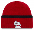 "St. Louis Cardinals New Era MLB ""Ribbed Up Team"" Cuffed Knit Hat"
