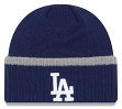 "Los Angeles Dodgers New Era MLB ""Ribbed Up Team"" Cuffed Knit Hat"
