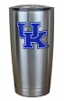Kentucky Wildcats NCAA Stainless Steel Insulated 20oz Tumbler - Silver
