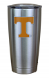 Tennessee Volunteers NCAA Stainless Steel Insulated 20oz Tumbler - Silver
