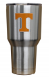 Tennessee Volunteers NCAA Stainless Steel Insulated 30oz Tumbler - Silver
