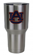 Auburn Tigers NCAA Stainless Steel Insulated 30oz Tumbler - Silver