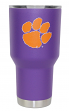 Clemson Tigers NCAA Stainless Steel Insulated 30oz Tumbler - Purple