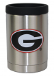 Georgia Bulldogs NCAA Stainless Steel Insulated 12oz Jacket with Seal