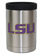 LSU Tigers NCAA Stainless Steel Insulated 12oz Jacket with Seal