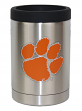Clemson Tigers NCAA Stainless Steel Insulated 12oz Jacket with Seal