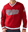 "Ohio State Buckeyes NCAA Starter ""Gameday Trainer"" Pullover Nylon V-Neck Jacket"