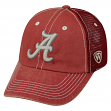 "Alabama Crimson Tide NCAA Top of the World ""Crossroad"" Adjustable Mesh Back Hat"