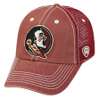 Florida State Seminoles NCAA Top of the World Crossroad Adjustable Mesh Back Hat