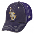 "LSU Tigers NCAA Top of the World ""Crossroad"" Adjustable Mesh Back Hat"