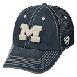 "Michigan Wolverines NCAA Top of the World ""Crossroad"" Adjustable Mesh Back Hat"