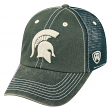 Michigan State Spartans NCAA Top of the World Crossroad Adjustable Mesh Back Hat