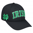 "Notre Dame Fighting Irish NCAA Top of the World ""Fresh"" Adjustable Charcoal Hat"