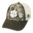 """Clemson Tigers NCAA Top of the World RealTree """"Logger"""" Mesh Back Hat"""