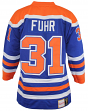 Grant Fuhr Edmonton Oilers Mitchell & Ness Authentic 1986 Blue NHL Jersey