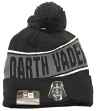 "Darth Vader Star Wars New Era ""Team Chant"" Cuffed Knit Hat with Pom"