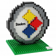 Pittsburgh Steelers NFL BRXZL 420 Piece 3-D Construction Toy Team Logo