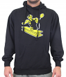 Pittsburgh Steelers Majestic NFL Back in Time Men's Throwback Hooded Sweatshirt