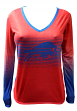 "Buffalo Bills Women's NFL ""Dynamic"" Long Sleeve Fashion Shirt"