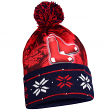"Boston Red Sox MLB ""Big Logo"" LED Light Up Cuffed Knit Hat with Pom"
