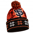 "San Francisco Giants MLB ""Big Logo"" LED Light Up Cuffed Knit Hat with Pom"