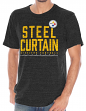 "Pittsburgh Steelers NFL G-III ""Team Slogan"" Men's Tri-blend Short Sleeve T-shirt"