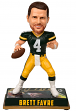 "Brett Favre Green Bay Packers ""Legends of the Field"" Bobblehead Figurine"