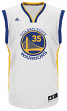 Kevin Durant Golden State Warriors Adidas NBA Men's White Replica Jersey