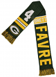 "Brett Favre Green Bay Packers NFL ""Football Greats"" Wordmark Scarf"