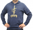 "Cleveland Cavaliers Majestic NBA ""Court Tek Patch"" Hooded Sweatshirt"