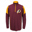 Washington Redskins Youth NFL Lightweight 1/4 Zip Pullover Long Sleeve Shirt