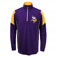 Minnesota Vikings Youth NFL Lightweight 1/4 Zip Pullover Long Sleeve Shirt