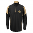 New Orleans Saints Youth NFL Lightweight 1/4 Zip Pullover Long Sleeve Shirt